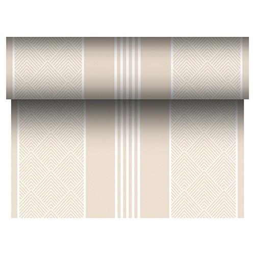"""Tischläufer, stoffähnlich, PV-Tissue Mix """"ROYAL Collection"""" 24 m x 40 cm champagner """"Elegance"""""""