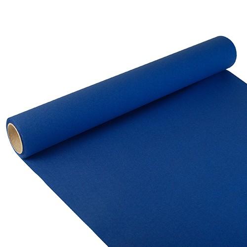 """Tischläufer, Tissue """"ROYAL Collection"""" 3 m x 40 cm dunkelblau"""