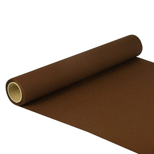 """Tischläufer, Tissue """"ROYAL Collection"""" 5 m x 40 cm braun"""