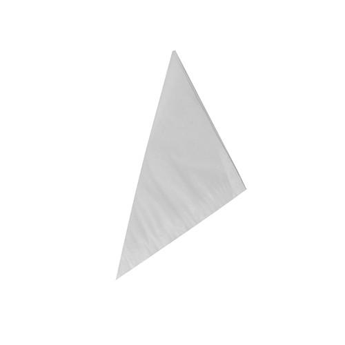 1000 Spitztüten, Cellulose, gefädelt 19 cm x 18,5 cm x 26,5 cm weiss Füllinhalt 125 g