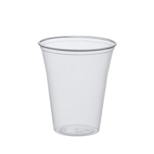 75 Trinkbecher, PS 0,4 l Ø 9,5 cm · 12 cm klar mit Schaumrand