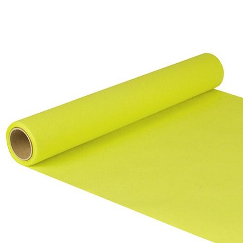 """Tischläufer, Tissue """"ROYAL Collection"""" 5 m x 40 cm limonengrün"""