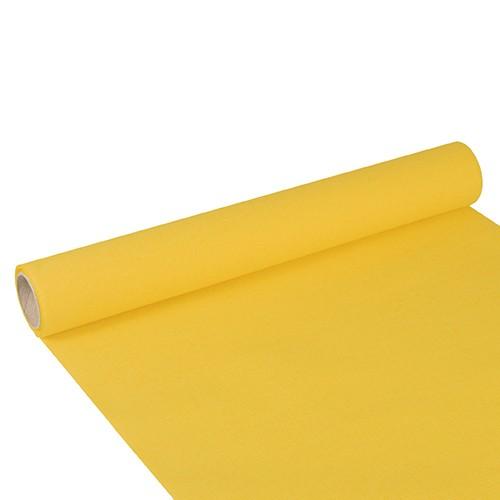 """Tischläufer, Tissue """"ROYAL Collection"""" 3 m x 40 cm gelb"""