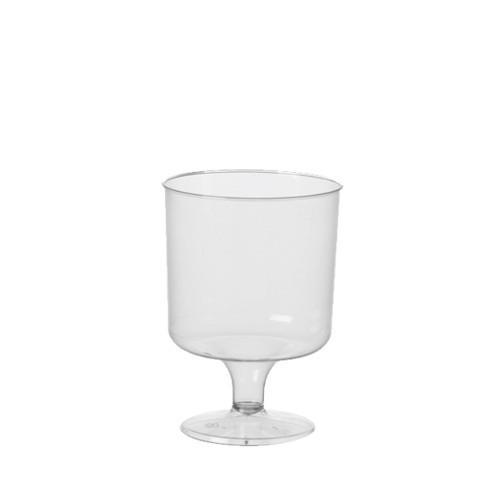 10 Stiel-Gläser für Rotwein, PS 0,2 l Ø 7,2 cm · 10 cm transparent einteilig