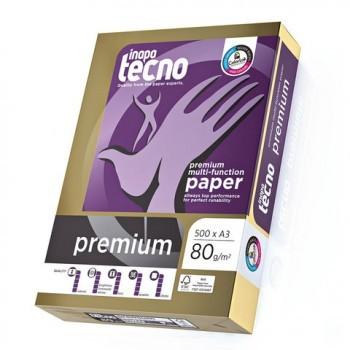 inapa tecno Premium DIN A4 80g Druckerpapier 4-f.gelocht