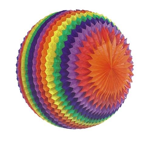 """Streifenball Ø 50 cm """"Rainbow"""" schwer entflammbar"""