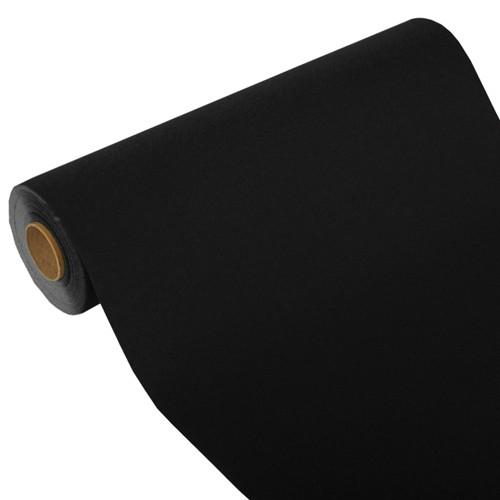"""Tischläufer, Tissue """"ROYAL Collection"""" 24 m x 40 cm schwarz"""