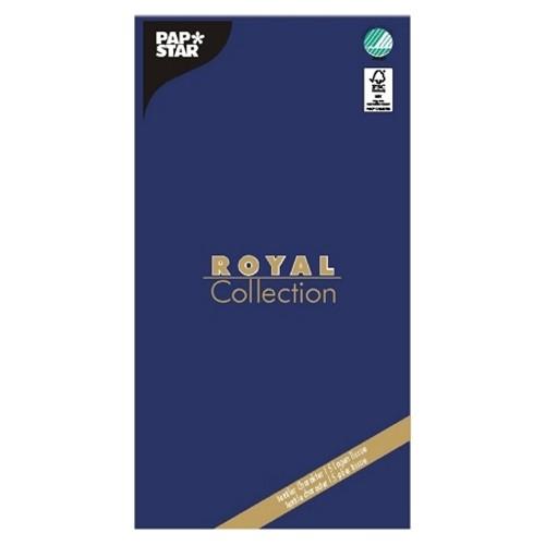 """Tischdecke, Tissue """"ROYAL Collection"""" 120 cm x 180 cm dunkelblau"""