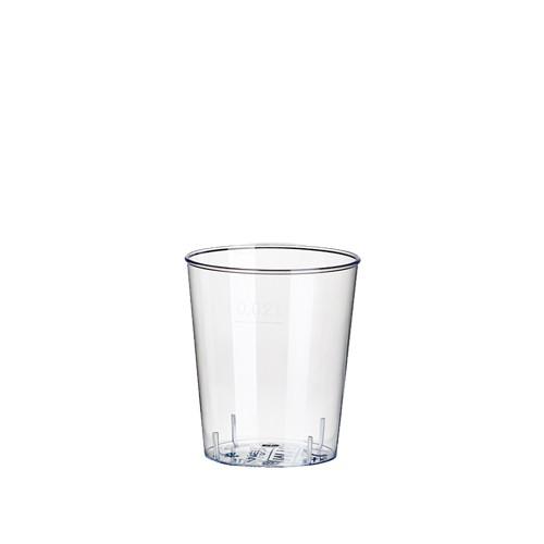 40 Gläser für Schnaps, PS 2 cl Ø 3,7 cm · 4,1 cm glasklar