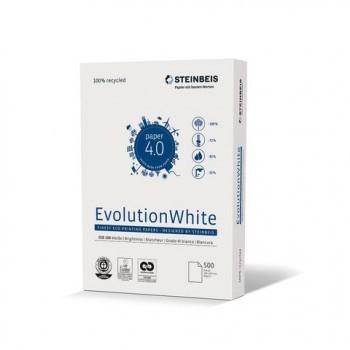 Multifunktions-Papier Steinbeis EvolutionWhite, A4, 80 g/m², weiß, 500 Blatt