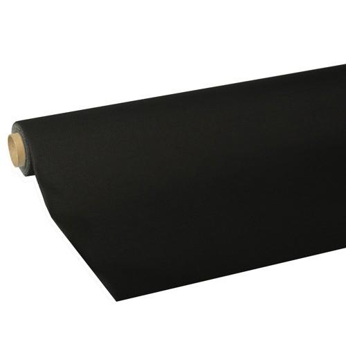 """Tischdecke, Tissue """"ROYAL Collection"""" 5 m x 1,18 m schwarz"""