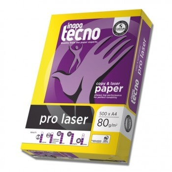 Laser-Papier pro laser, A4, 80 g/m², weiß, 500 Blatt