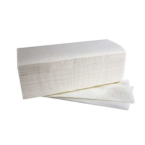 "3000 Blatt Handtuchpapier V-Falz 25 cm x 23 cm hochweiss ""Comfort"" 2-lagig (20x150)"