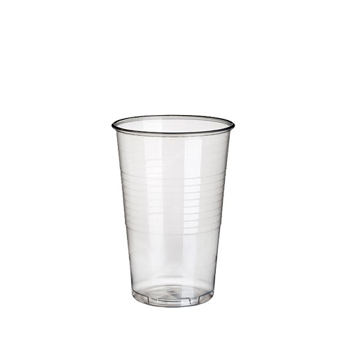 100 Trinkbecher, PP 0,3 l Ø 7,8 cm · 11,3 cm transparent