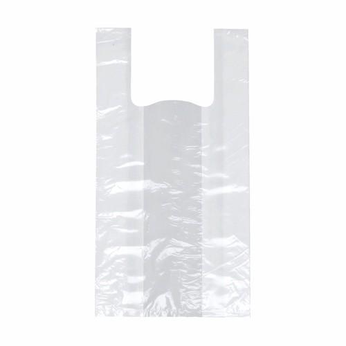 200 Hemdchen-Tragetaschen, HDPE 55 cm x 22 cm x 15 cm weiss mittel