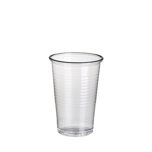 100 Trinkbecher, PP 0,2 l Ø 7,03 cm · 9,9 cm transparent