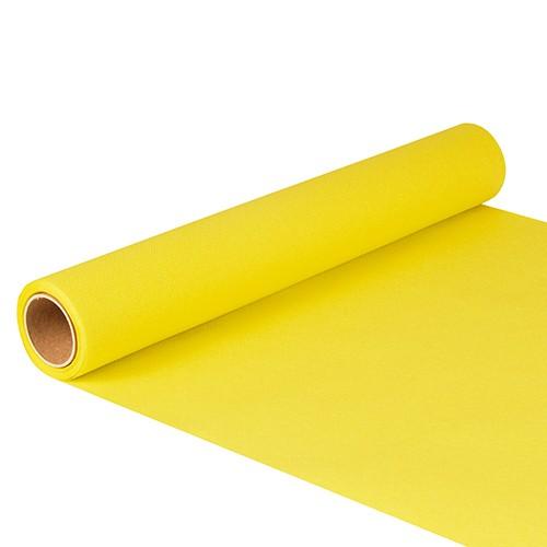 """Tischläufer, Tissue """"ROYAL Collection"""" 5 m x 40 cm gelb"""