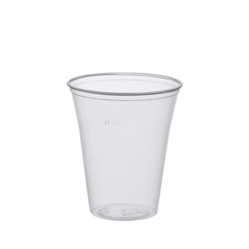 75 Trinkbecher, PS 0,3 l Ø 9,5 cm · 11 cm klar mit Schaumrand