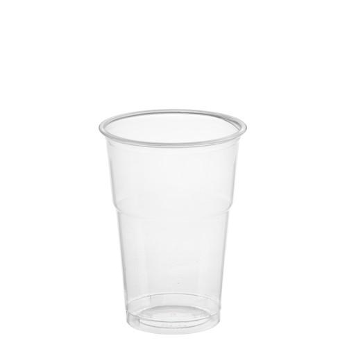 "50 Trinkbecher ""Hurricane"", PET 0,25 l Ø 7,8 cm · 11,5 cm glasklar"