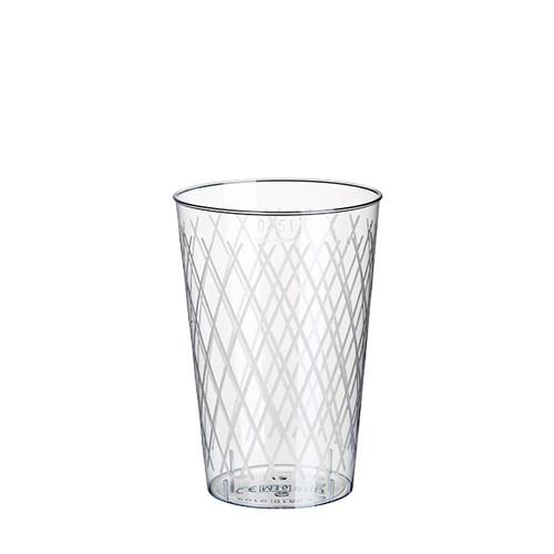 50 Gläser für Apfelwein, PS 0,25 l Ø 7 cm · 10,5 cm glasklar