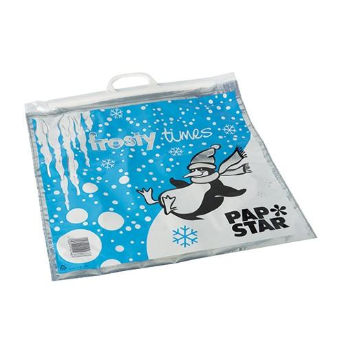 """Tiefkühltragetaschen, LDPE 12 l 47 cm x 43 cm """"Frosty Times"""""""