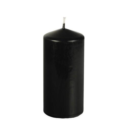 Stumpenkerze Ø 69 mm · 150 mm schwarz