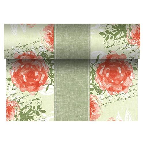 """Tischläufer, stoffähnlich, PV-Tissue Mix """"ROYAL Collection"""" 24 m x 40 cm nektarine """"Provencal"""""""