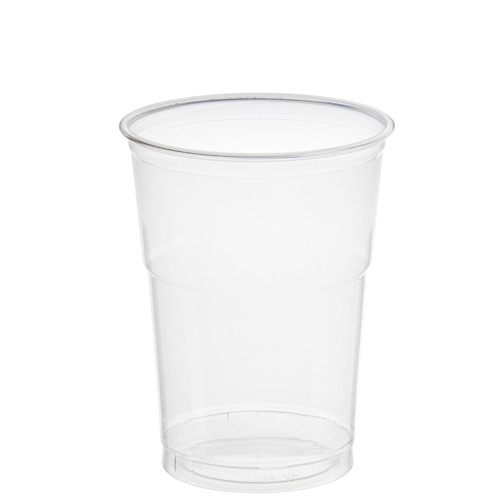 "50 Trinkbecher ""Hurricane"", PET 0,4 l Ø 9,5 cm · 12,9 cm glasklar"