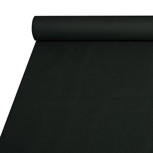 Tischdecke, stoffähnlich, Airlaid 20 m x 1,2 m schwarz