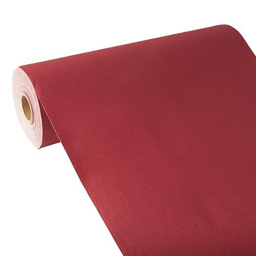 """Tischläufer, stoffähnlich, PV-Tissue Mix """"ROYAL Collection"""" 24 m x 40 cm bordeaux"""