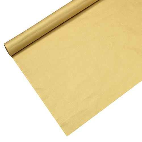 Tischdecke, Papier 6 m x 1,2 m gold