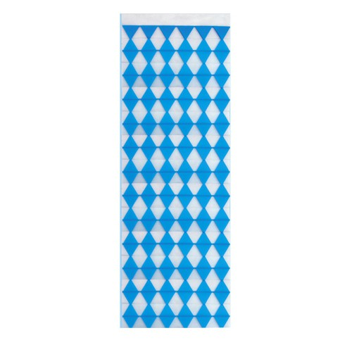 "Wandbanner 160 cm x 42 cm ""Bayrisch Blau"" schwer entflammbar"