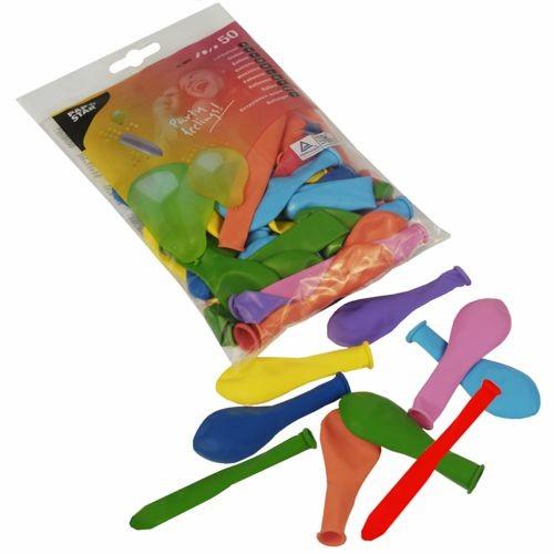 """50 Luftballons farbig sortiert """"verschiedene Formen"""""""