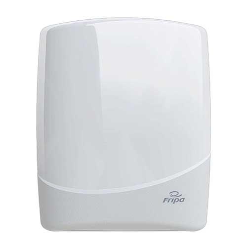 Spender für Toilettenpapier Maxi 38,5 cm x 15,3 cm x 30 cm weiss für Toilettenpapier
