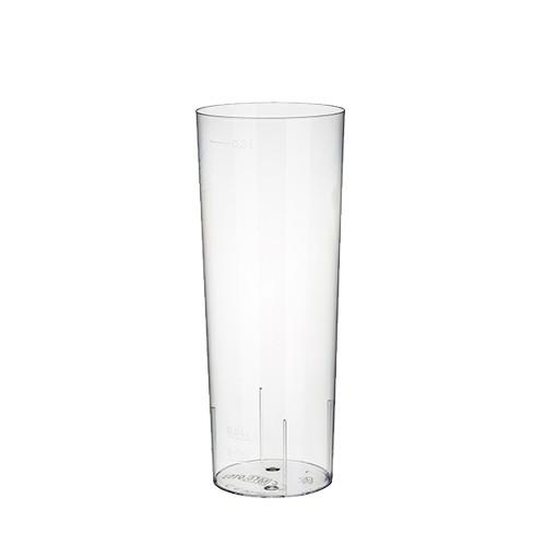 10 Gläser für Longdrinks, PS 0,3 l Ø 5,85 cm · 15,2 cm glasklar