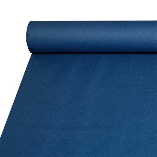 Tischdecke, stoffähnlich, Airlaid 20 m x 1,2 m dunkelblau