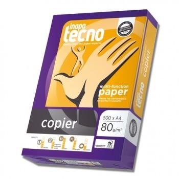Multifunktions-Papier inapa tecno copier , A4, 80 g/m², weiß, 2500 Blatt