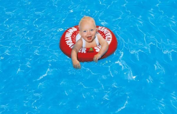 Swim Trainer Classic, ab 3 Monate, 6-18 kg, # ca. 42 cm, rot