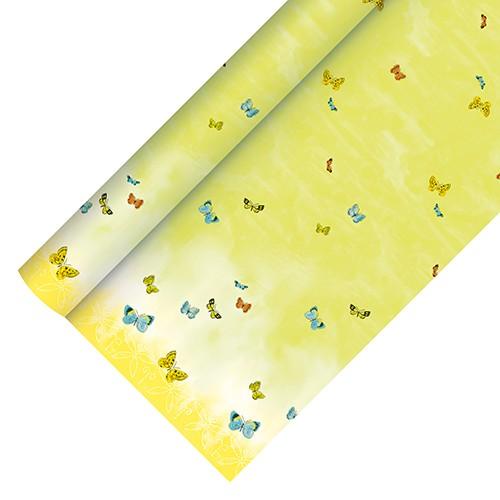 """Tischdecke, Papier 5 m x 1,2 m """"Papillons"""""""