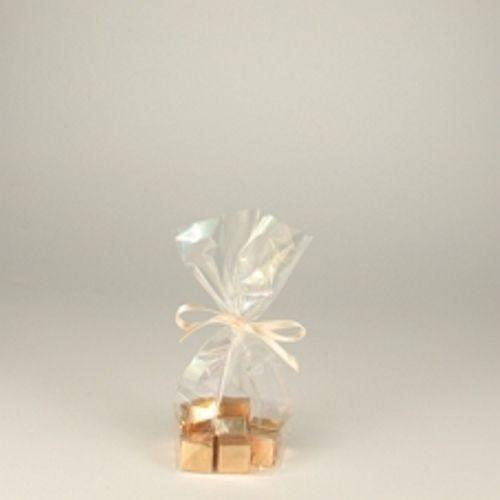"""300 Bodenbeutel, Zellglas """"pure"""" 17,3 cm x 11,5 cm x 4 cm transparent"""