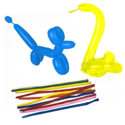 """50 Modellierballons 140 cm farbig sortiert """"Maxi"""""""