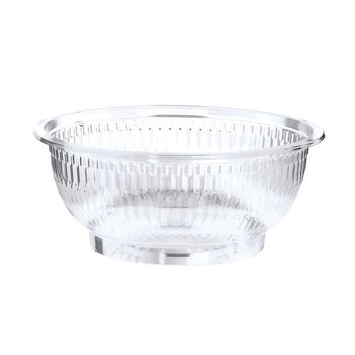 50 Salatschalen, R-PET rund 1 l Ø 18 cm · 7,5 cm glasklar