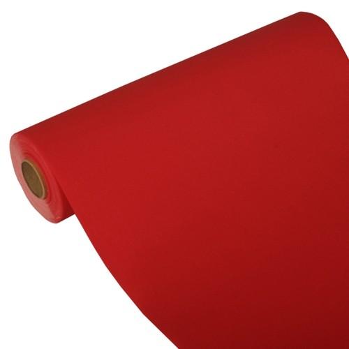 """Tischläufer, Tissue """"ROYAL Collection"""" 24 m x 40 cm rot"""