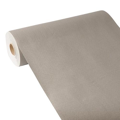 """Tischläufer, stoffähnlich, PV-Tissue Mix """"ROYAL Collection"""" 24 m x 40 cm grau"""