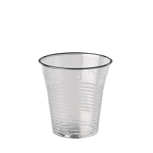 """100 Kaltgetränkebecher, PLA """"pure"""" 0,15 l Ø 7,08 cm · 7,29 cm glasklar"""