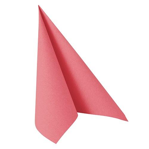 """50 Servietten """"ROYAL Collection"""" 1/4-Falz 40 cm x 40 cm rosa"""