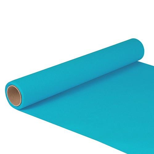 """Tischläufer, Tissue """"ROYAL Collection"""" 5 m x 40 cm türkis"""
