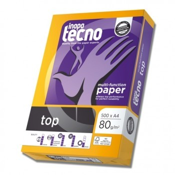 Multifunktions-Papier inapa tecno top, A3, 80 g/m², weiß, 500 Blatt