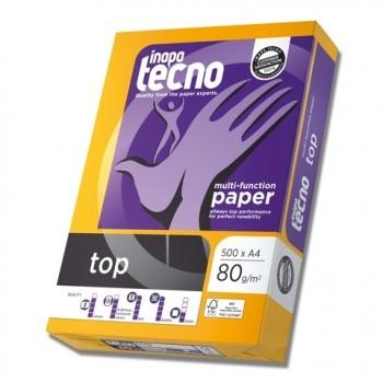 Multifunktions-Papier inapa tecno top, A4, 80 g/m², weiß, 2500 Blatt