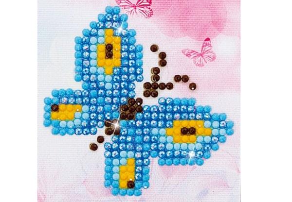 Diamond Dotz Schmetterling 7,6 x 7,6 cm
